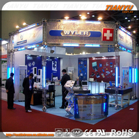 Global used trade show booth truss trade show booth for clothing