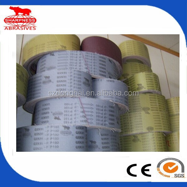 HD265 aluminum oxide abrasive emery with the abrasive belt