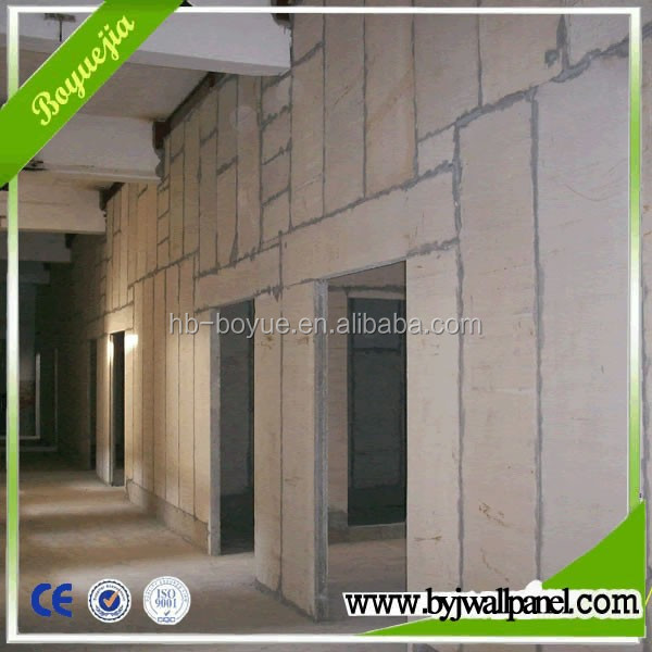 Fireproof waterproof soundproof living room exterior EPS cement sandwich partition wall panel