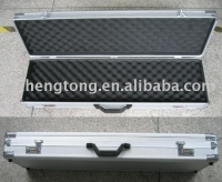 silver color Aluminum RIFLE case