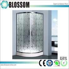 Top quality spare parts tempered lowes freestanding shower enclosure