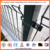 Esplanade pool safety fencing Powder coated welded wire mesh roll top fence