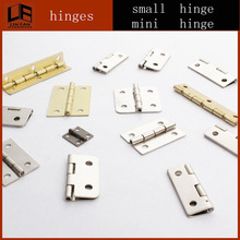 Modern furniture Metal cheap price mini box spring hinge for wine box