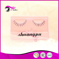 High Quality with Reasonable Price 100% Human Hair Fake World Beauty Lahses Eyelash