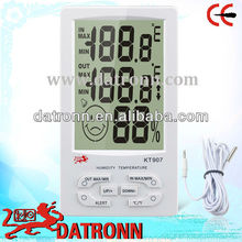 Digital thermometer humidity meter KT907 temperature and calendar