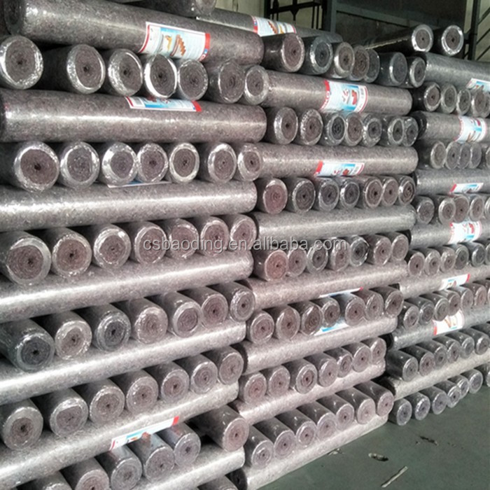 customized needle punched decorative fabric roll / good Chinese nonwoven fabric manufacturer