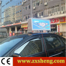 aliexpress of 2012 hot new peoducts of led taxi topper advertising