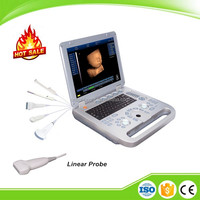 Portable Notebook Laptop Ultrasound machine Scanner system Digital Linear PROBE