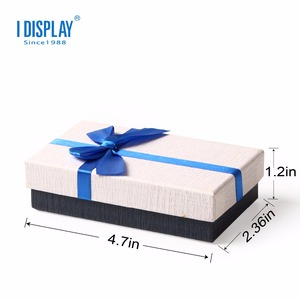 Custom Gift Box Paper Packing Box With Butterfly Clip