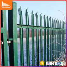china high quality security pool fence panel second hand steel palisade fencing