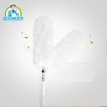 BOOMJOY MAGIC FLEXIBLE ROTATING TELESCOPIC HANDLE ELECTROSTATIC MICROFIBER CLEANING DUSTER