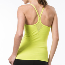 Women Casual Versatile Sublimation Stretch Racerback Exercise Gym Tank Tops