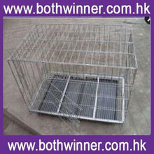 KA060 stainless steel folding dog cage