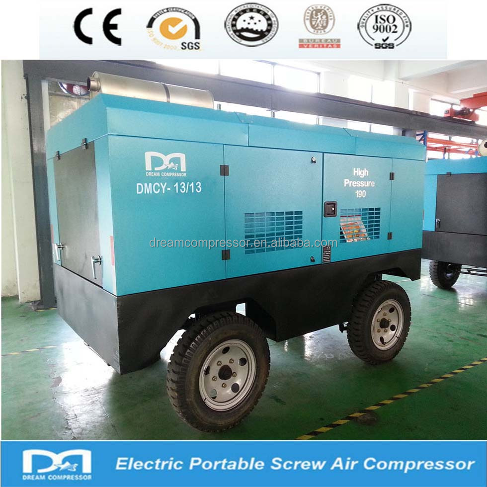 Screw air compressor for mining industrial air compressor 20kw used diesel air compressor