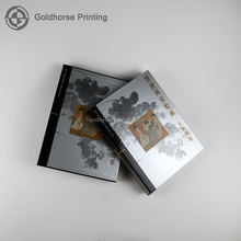 2017 Professional Chineses History Book Printing/Hardcover Photo Album With Cardboard Case