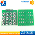 KJ249 16 Button Mcu 4x4 Matrix 16 Keypad Keyboard Module for Arduinos