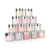 Nail art designs pearl nail acrylic powder and dipping powder 3 in 1 with liquid for dipping