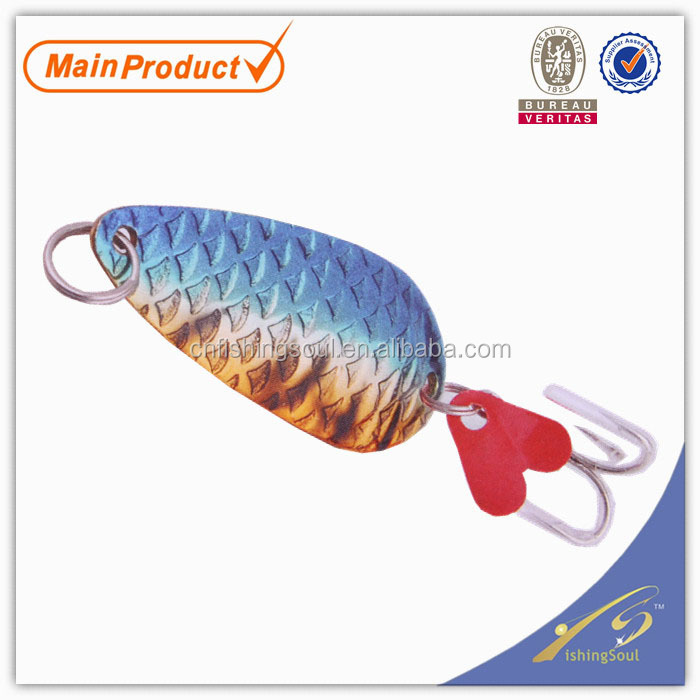 SNL004 8-20g, fishing tackle fish custom copper fishing spoon lures