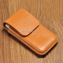 Jranter Real Leather Pouch Case for iPhone 5 Custom for iPhone 5c Case