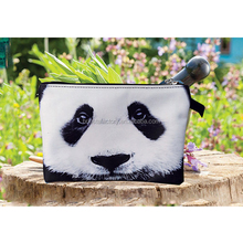 Personalized Panda Purse Customized Animal Pouch
