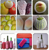 China Suppliers FDA Approved Food Grade Colorful Fruit Foam Sleeve Net