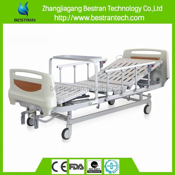 BT-AM204 2 positions central locked China nursing bed hospital bed price distributor
