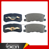 Rear Brake Pads for Mitsubishi Pajero V73 6G72 V75 6G74 V78 4M41 MR510544 4605A447 4605A487 MZ690183