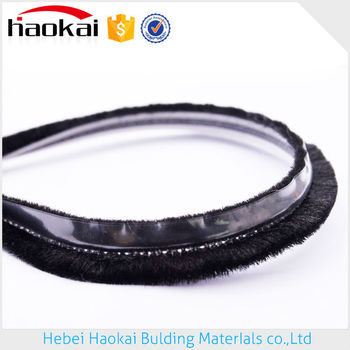 professional manufacturer Supplier Rubber Strip Sliding Door Seal With Fin