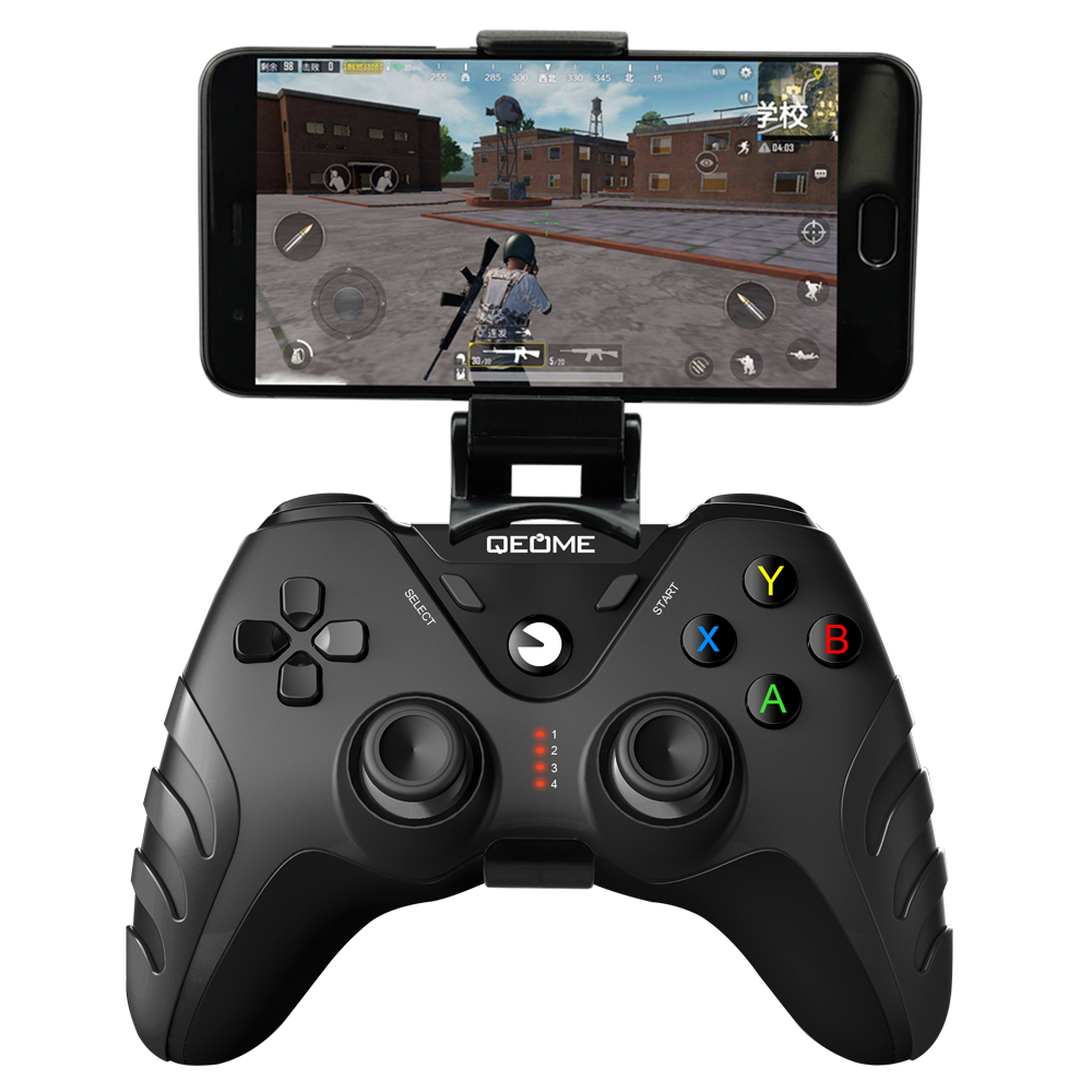 QEOME mobile game smartphone gamepad joystick gaming <strong>controller</strong> for smartphone