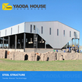 Steel construction factory building fabricated steel frame structure building prefab steel structure