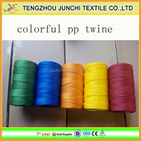 3 strand twisted pp twine pp baler twine colorful pp fishing twine