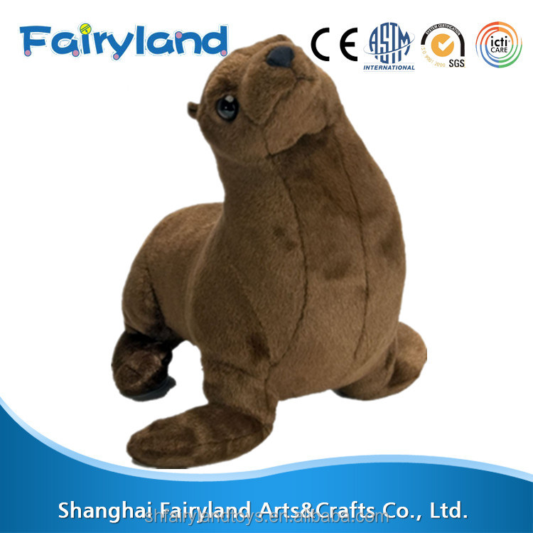 Sea Lion Adult 15inch Plush sit on animals toys