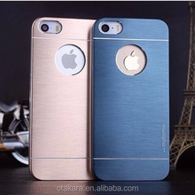 Apple iPhones Compatible Brand and motomo ultra-thin metal cell phone case for iphone 5 5s