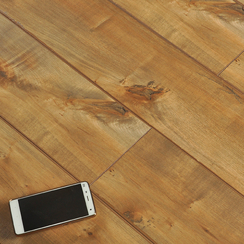 hot sale cheap german technology wood laminated flooring euro click laminate  flooring Oak wood grain