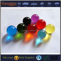 Large Solid Colored Glass Crystal Plastic