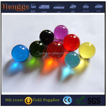 Large Solid Colored Glass Crystal Plastic Chrismas Balls