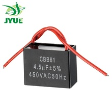 China Supplier 1uF to 150uF Single Phase Box Capacitor