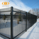 low carbon security wrought iron fence
