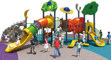 playground tube slide outdoor playset