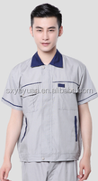 China Factory 2 Piece Latest Design Men Working Uniform Cotton Coveralls for Auto with