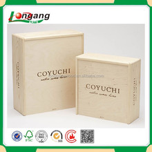 factory price gift cloth box wooden box