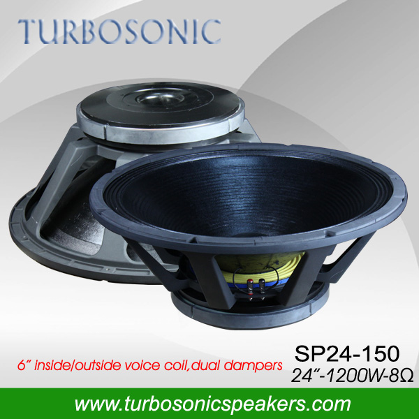 DJ equipment 24'' subwoofer speaker for sound system