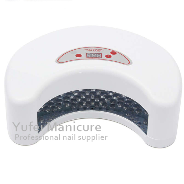 Moon Shape 12W LED Nail Gel UV Lamp Fast Dryer Fashion Salon Nails Product