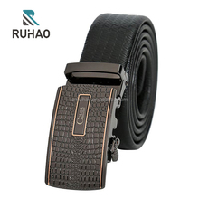 fashion especial print rubber belt for men