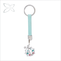 Finest Chrome Plated Metal Key Chain Wholesale