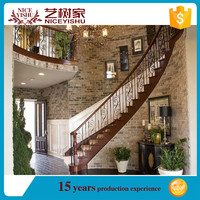 Wrought iron stair balustrade/wrought iron railing parts/lowes wrought iron railings