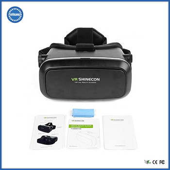 Flexible and Adjustable Headband Foldable Sex Video 3D VR Shinecon VR Glasses