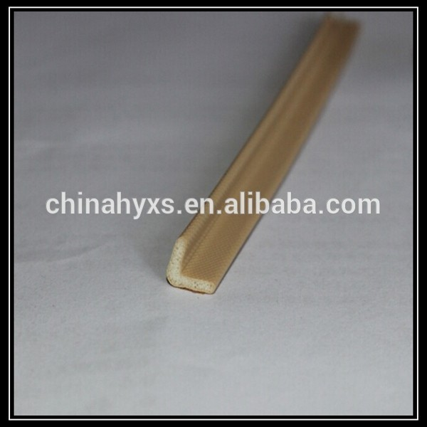 V-typed PU foam rubber seal strip