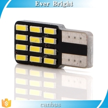 High quality nonpolarity Canbus Car Auto LED 194 W5W 12SMD T10 12 LEDS SMD 4014 CANBUS Light Bulb Lamp