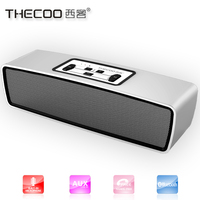 Private label thecoo wireless car speaker , 6w speakers subwoofer, aluminium speaker box